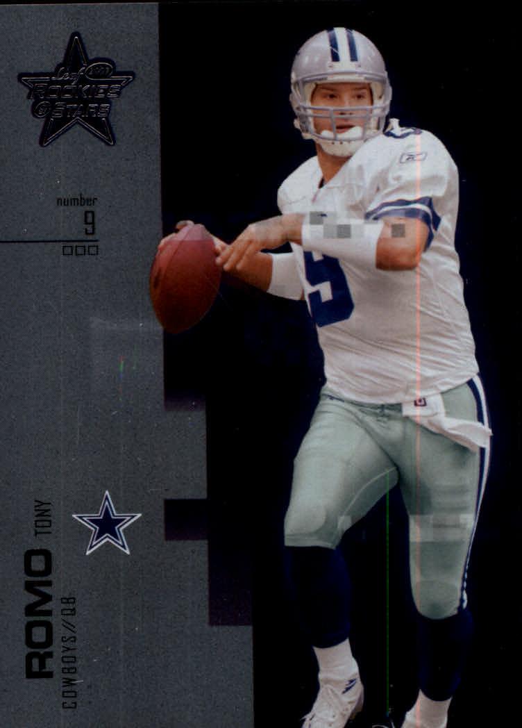 2007 Leaf Rookies and Stars Silver #1 Tony Romo