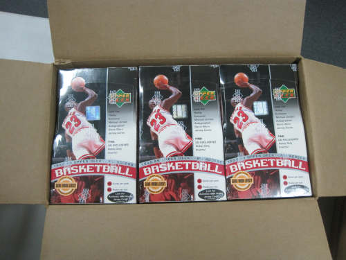 1998-99 Upper Deck Basketball Hobby Case Series 2