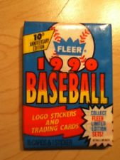 1990 Fleer Baseball Hobby Pack