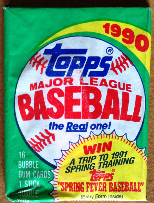 1990 Topps Baseball Hobby Pack