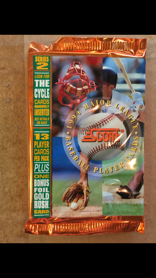 1994 Score Baseball Hobby Pack Series 2