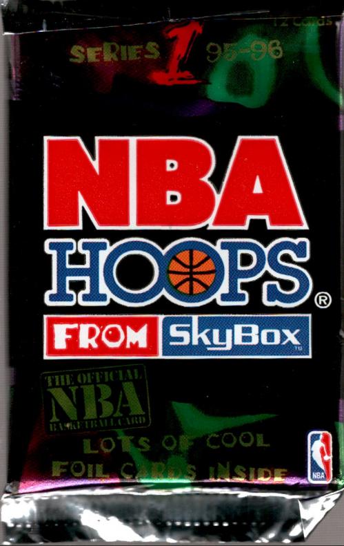 1995-96 Hoops Basketball Hobby Pack Series 1