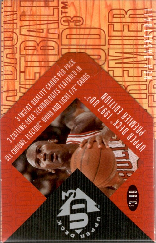 1996-97 UD3 Basketball Hobby Pack