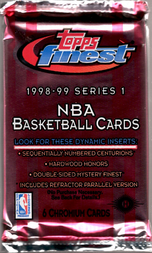 1998-99 Finest Basketball Hobby Pack Series 1