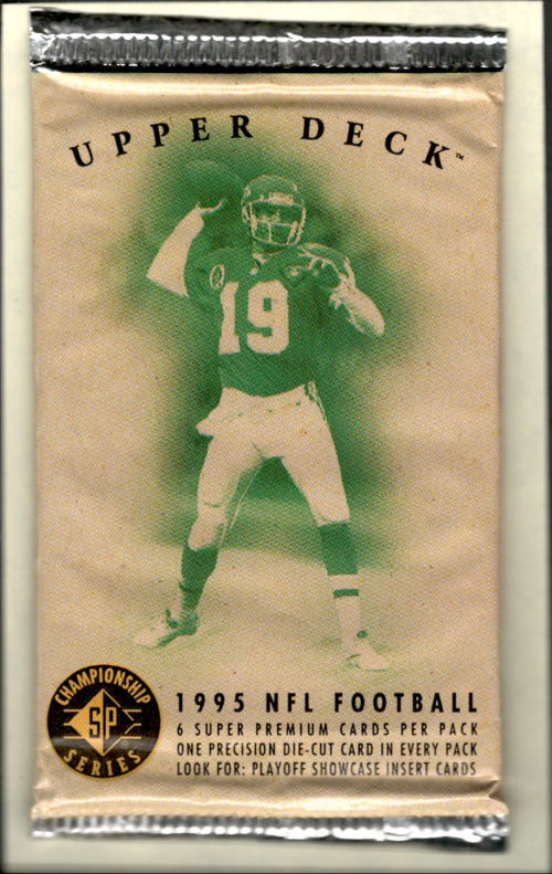 1995 SP Championship Football Hobby Pack