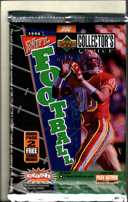1996 Collector's Choice Football Hobby Pack