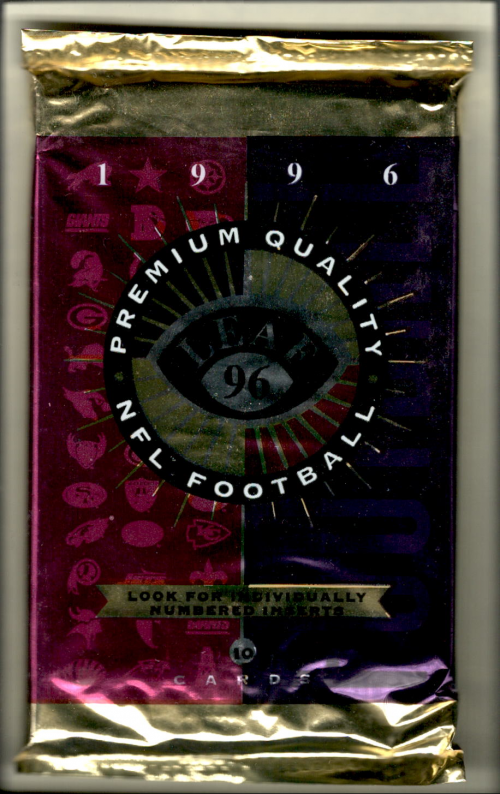 1996 Leaf Football Hobby Pack