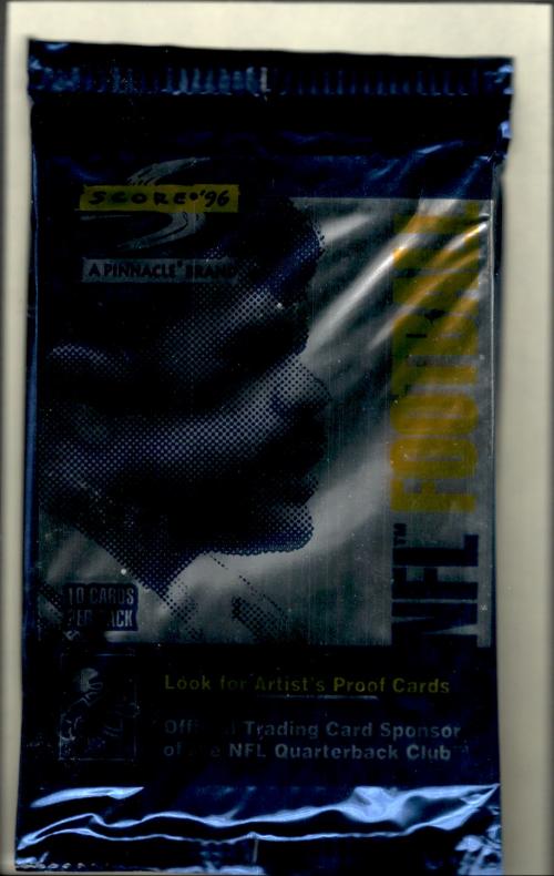 1996 Score Football Hobby Pack