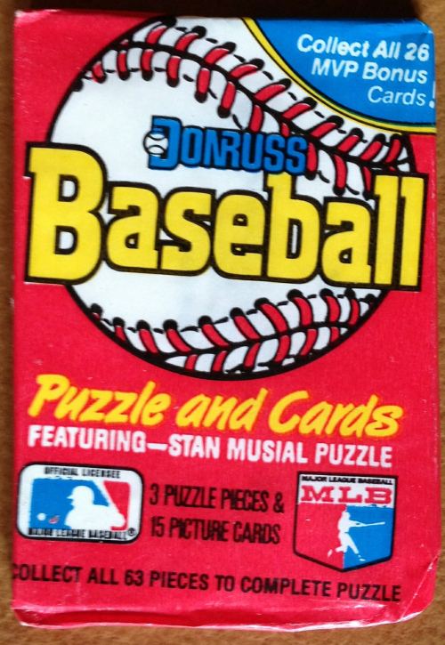 1988 Donruss Baseball Wax Pack