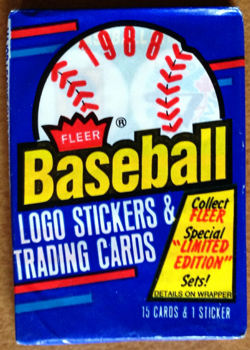 1988 Fleer Baseball Wax Pack
