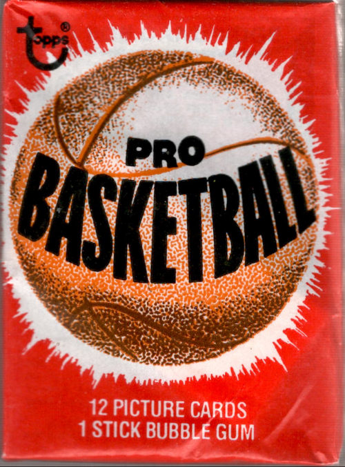 1979-80 Topps Basketball Wax Pack