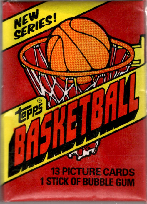 1981-82 Topps Basketball Wax Pack