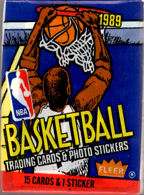 1989-90 Fleer Basketball Wax Pack