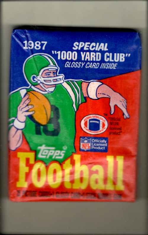 1987 Topps Football Wax Pack