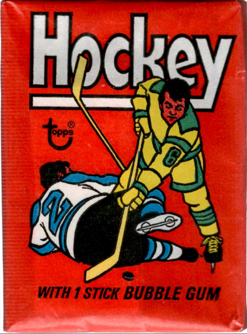 1975-76 Topps Hockey Wax Pack