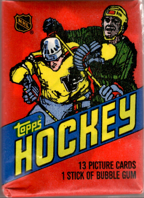 1981-82 Topps Hockey Wax Pack