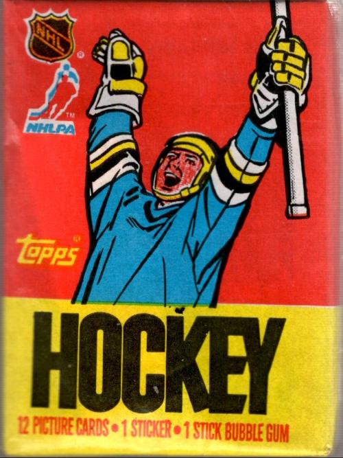 1987-88 Topps Hockey Wax Pack