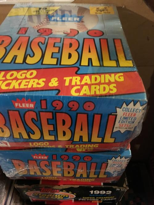 1990 Fleer Baseball Hobby Box