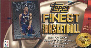 1996-97 Finest Basketball Hobby Box Series 1