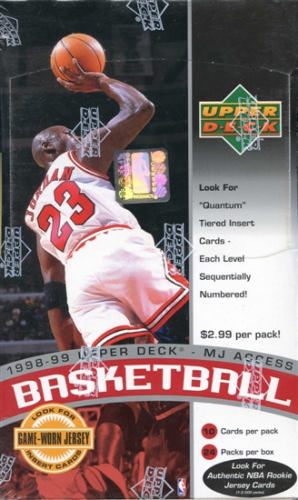 1998-99 Upper Deck Basketball Hobby Box Series 2