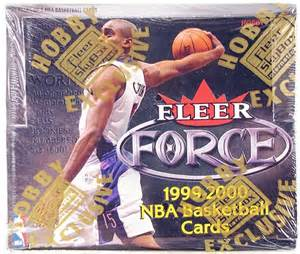 1999-00 Fleer Force Basketball Hobby Box