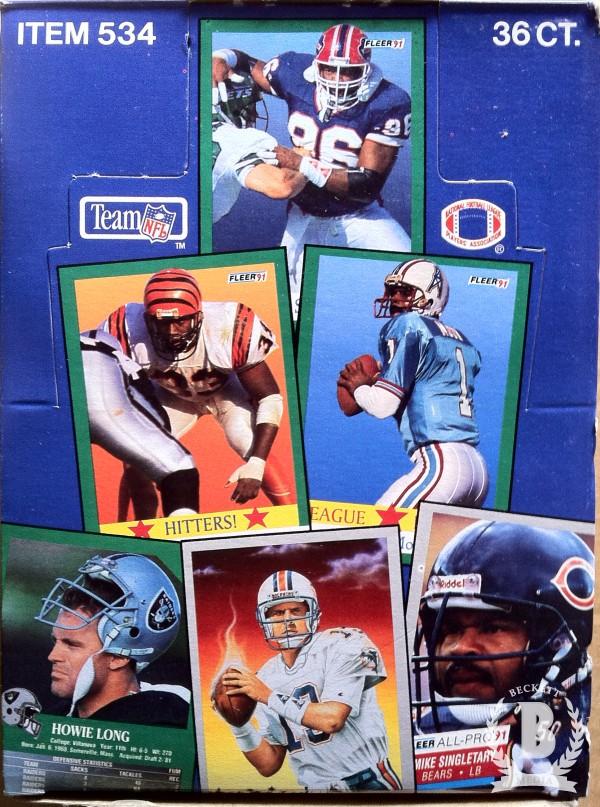 1991 Fleer Football Hobby Box