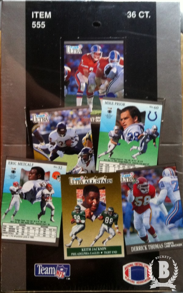1991 Ultra Football Hobby Box
