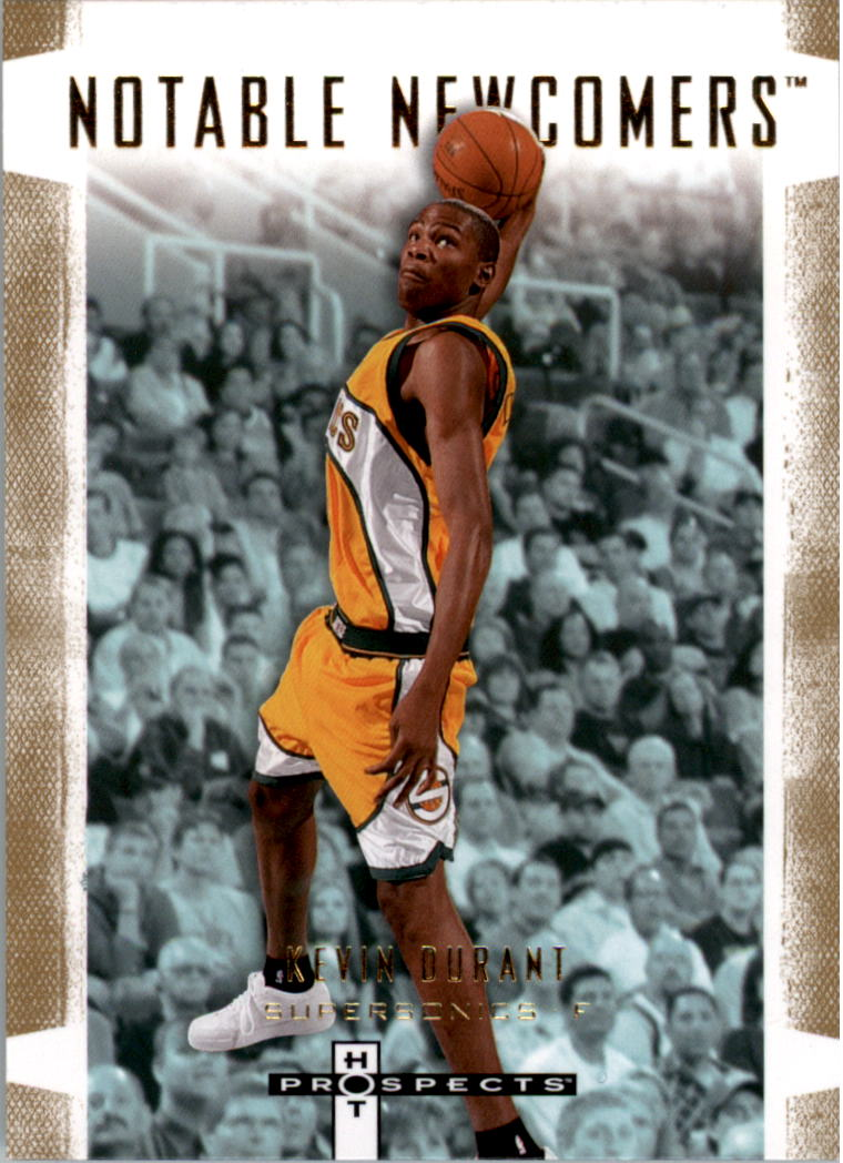 2007-08 Fleer Hot Prospects Notable Newcomers #1 Kevin Durant