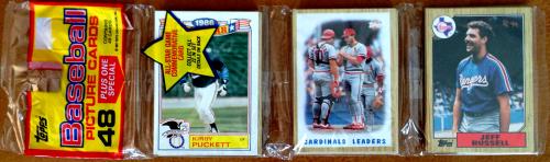 1987 Topps Baseball Rack Pack