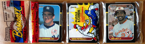 1987 Donruss Baseball Rack Pack