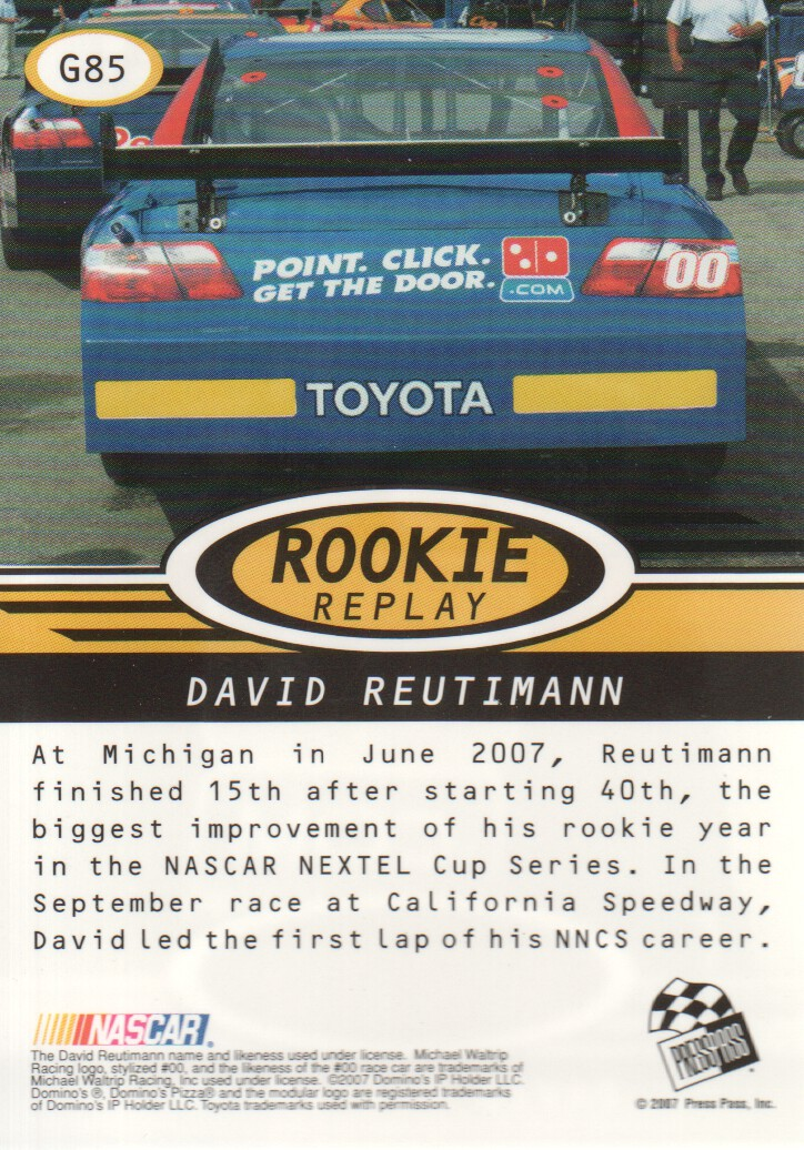 2008-Press-Pass-Parallels-NASCAR-Racing-Cards-Pick-From-List thumbnail 19
