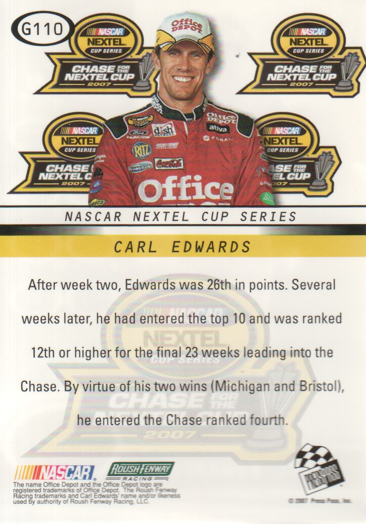 2008-Press-Pass-Parallels-NASCAR-Racing-Cards-Pick-From-List thumbnail 23