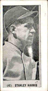 1928 Harrington's Ice Cream #41 Bucky Harris