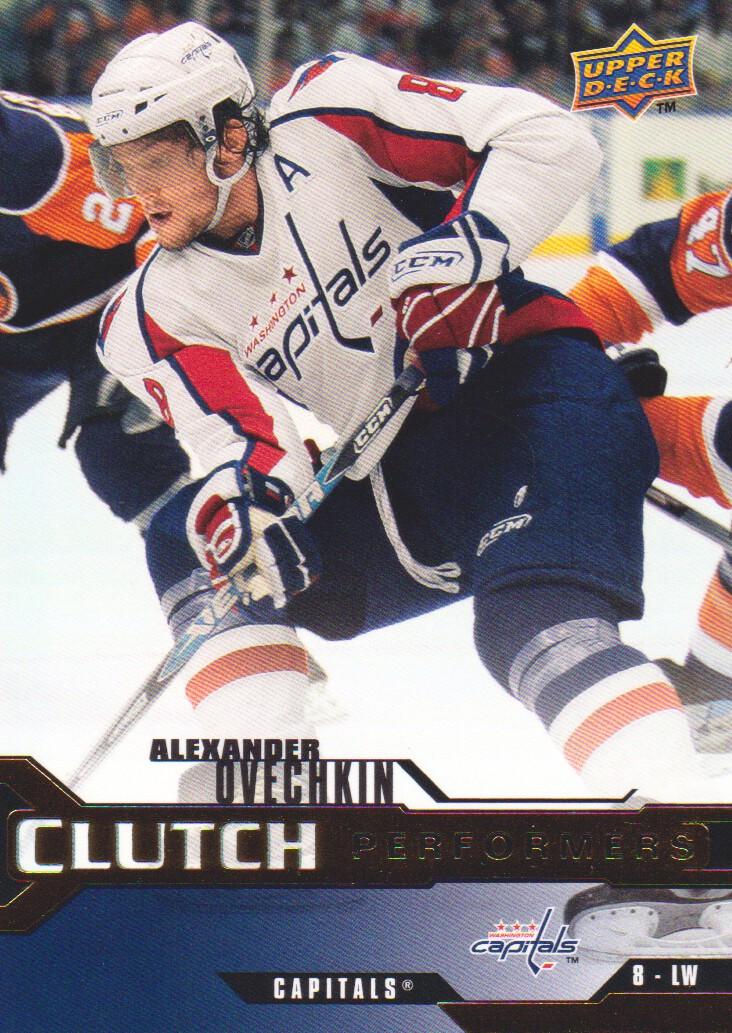 2007-08 Upper Deck Clutch Performers #CP2 Alexander Ovechkin