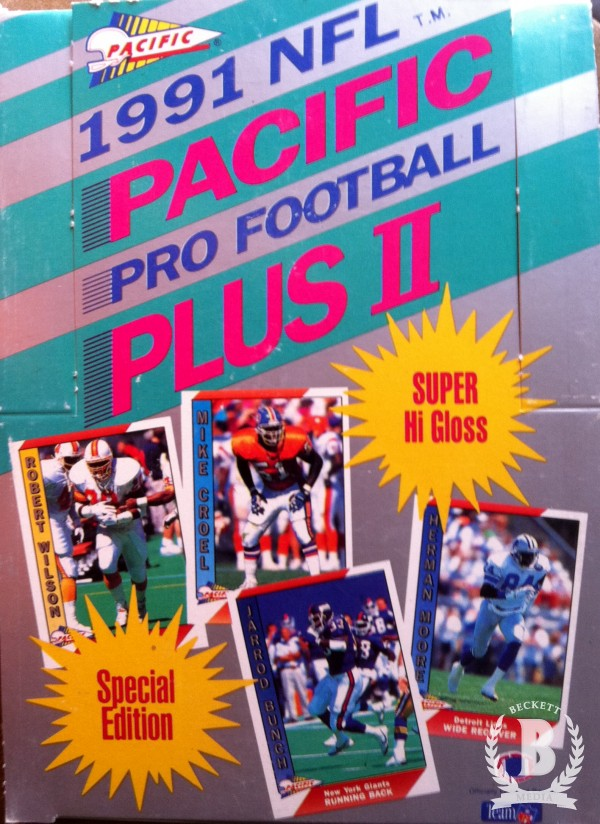 1991 Pacific Football Hobby Box Series 2