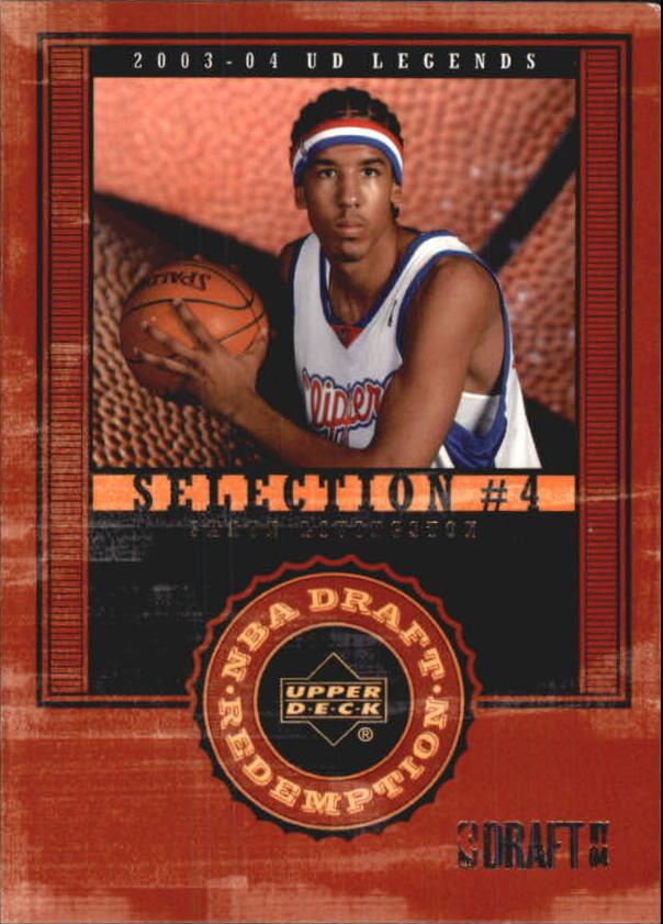 2003-04 Upper Deck Legends #139 Shaun Livingston XRC