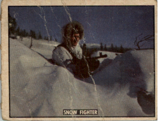 1950 Freedom's War #122 Snow Fighter
