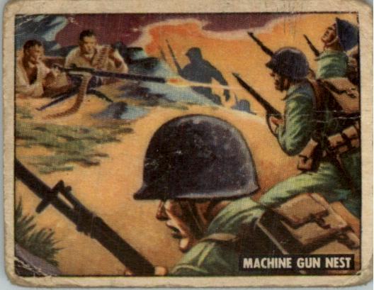 1950 Freedom's War #131 Machine Gun Nest