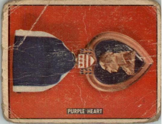 1950 Freedom's War #192 Purple Heart