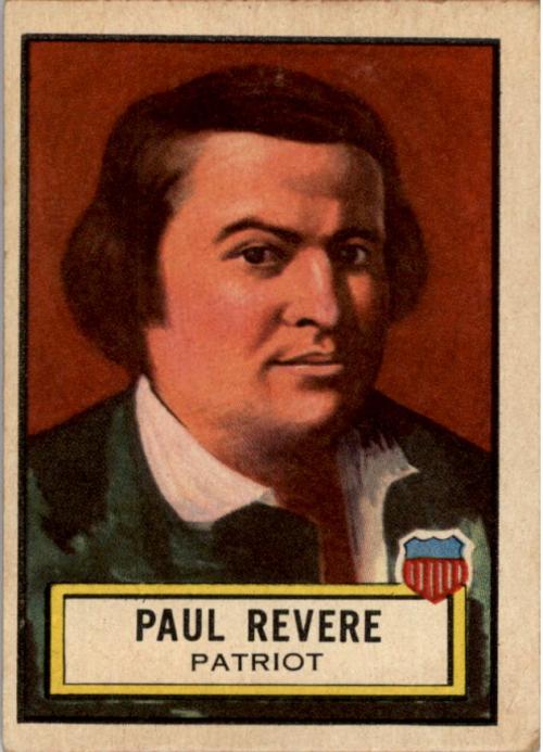1952 Look 'n See #16 Paul Revere