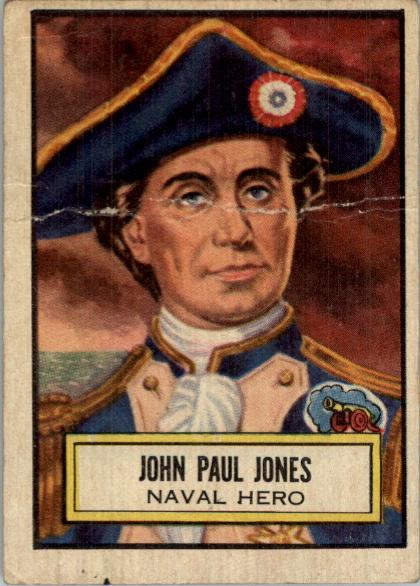 1952 Look 'n See #42 John Paul Jones SP