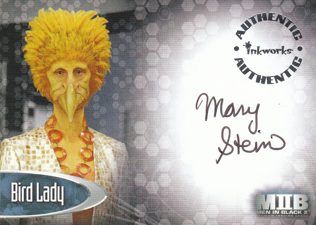 2002 Men in Black II Autographs #A6  Mary Stein