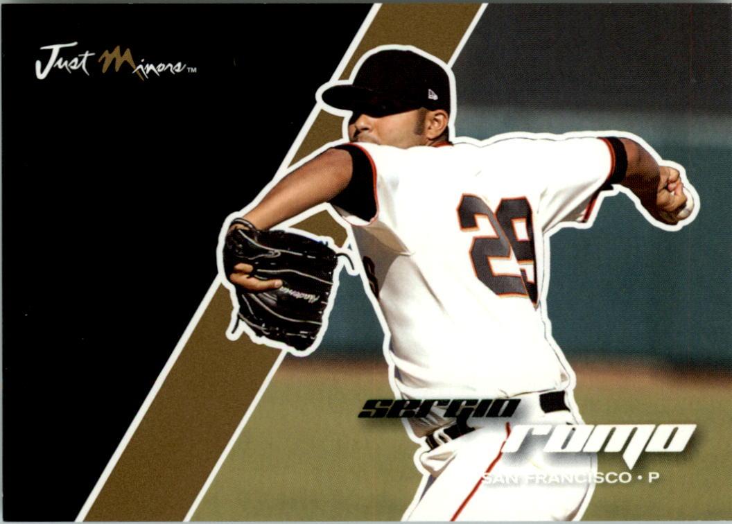 2008 Just Autographs Gold #63 Sergio Romo