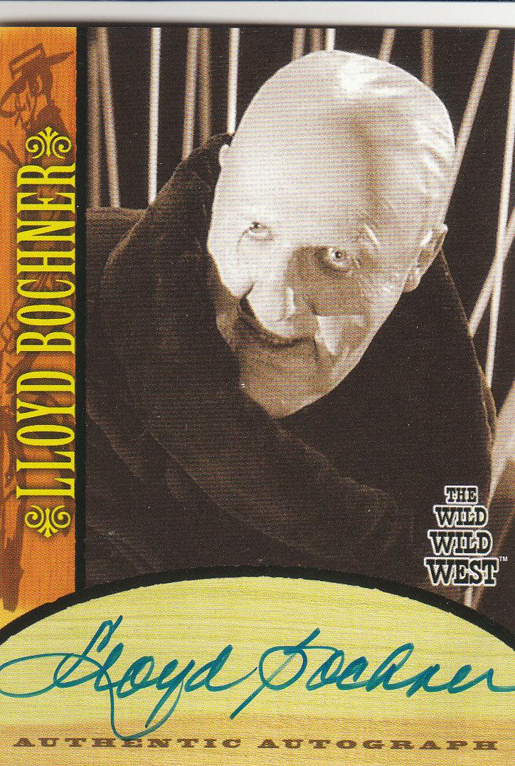 2000 Best of The Wild Wild West Season One Autographs #A3 Lloyd Bochner