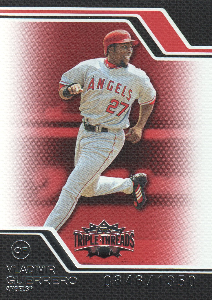 2008 Topps Triple Threads #64 Vladimir Guerrero