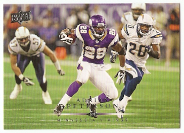 2008 Upper Deck #104 Adrian Peterson