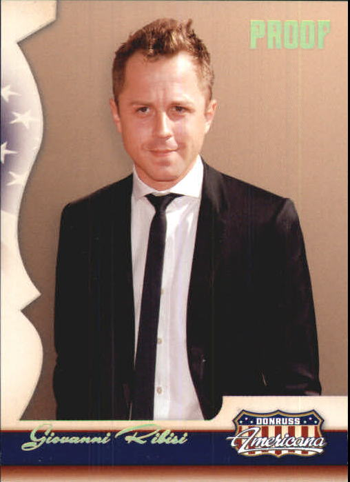 2007 Americana Gold Proofs Retail #33 Giovanni Ribisi