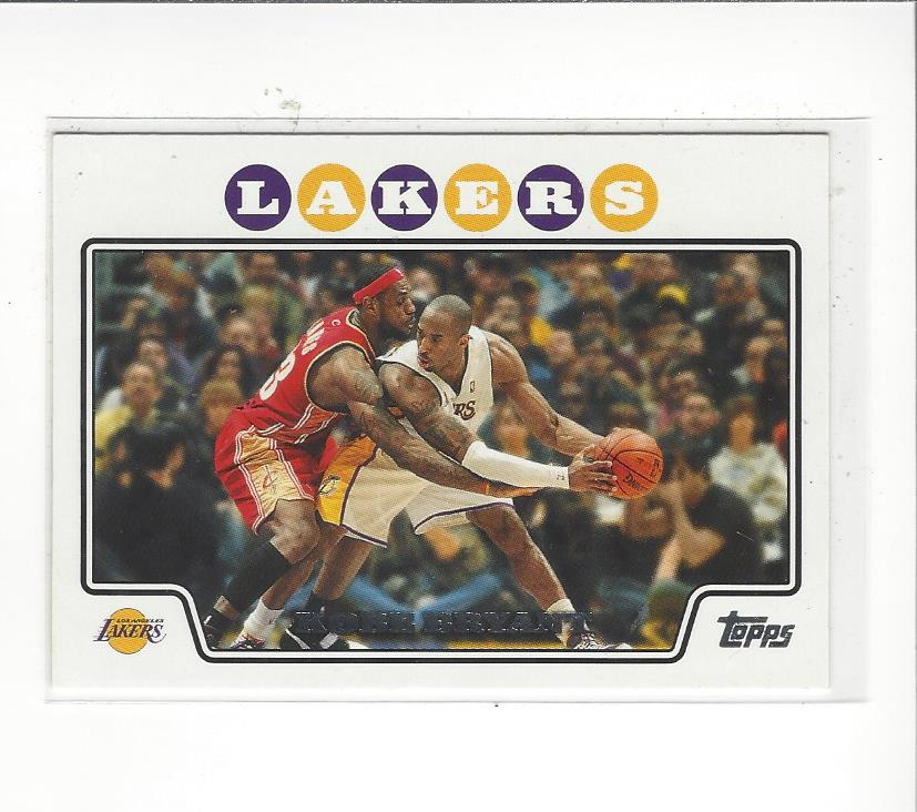 2008-09 Topps #24 Kobe Bryant