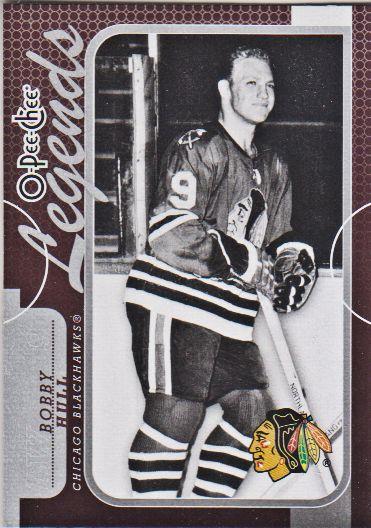 2008-09 O-Pee-Chee #563 Bobby Hull
