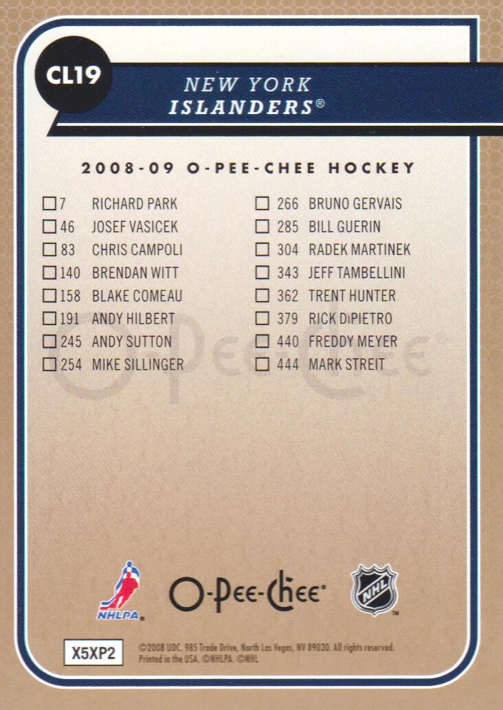 2008-09-O-Pee-Chee-OPC-Team-Checklist-Hockey-Cards-Pick-From-List thumbnail 7